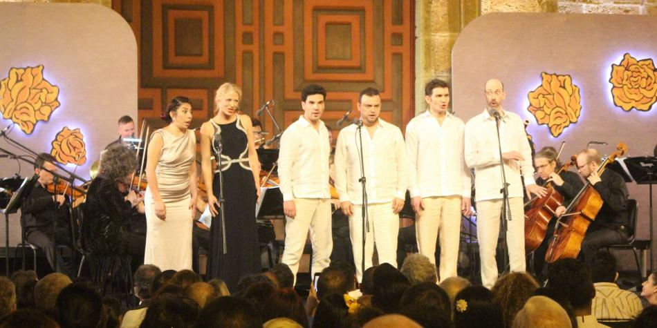 Con ópera al aire libre, terminó el Cartagena Festival de Música