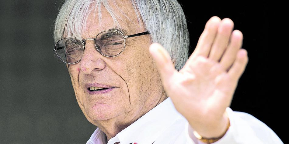 ¡Sorpresa! Expatrón de la Fórmula 1 será padre a sus 89 años