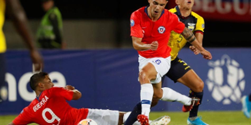 Chile arrancó goleando a Ecuador en el Preolímpico