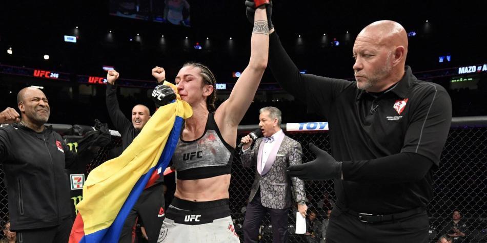 Victoria colombiana en artes marciales mixtas