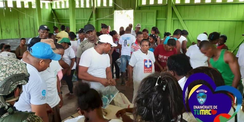 Declaran la emergencia humanitaria por 4.000 desplazados en Tumaco