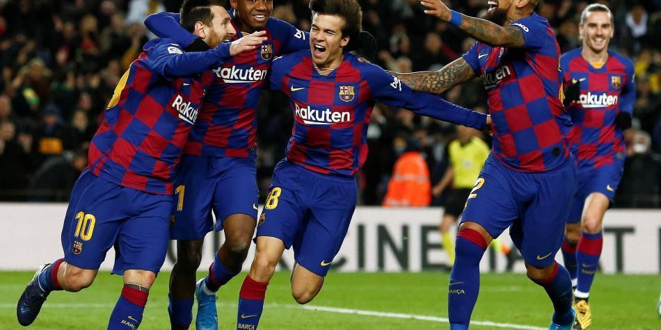 El nuevo Barcelona de Setién ganó, pero no convenció