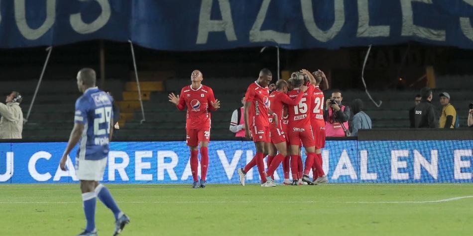 Un sólido América superó 1-2 a Millonarios y ganó el torneo en Bogotá