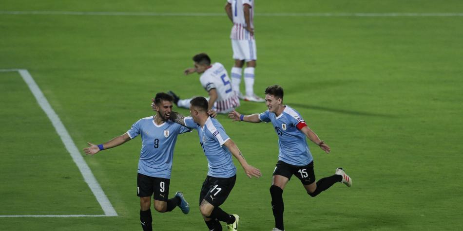 Victoria de Uruguay en el Preolímpico de Fútbol