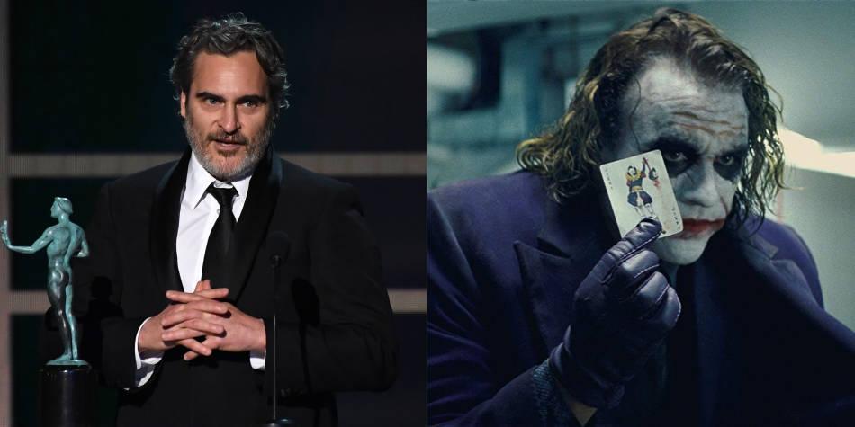 'Es mi actor favorito': Joaquin Phoenix sobre Heath Ledger en los SAG