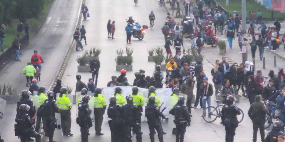 Paro nacional 21 de enero: se inician las marchas en Bogotá
