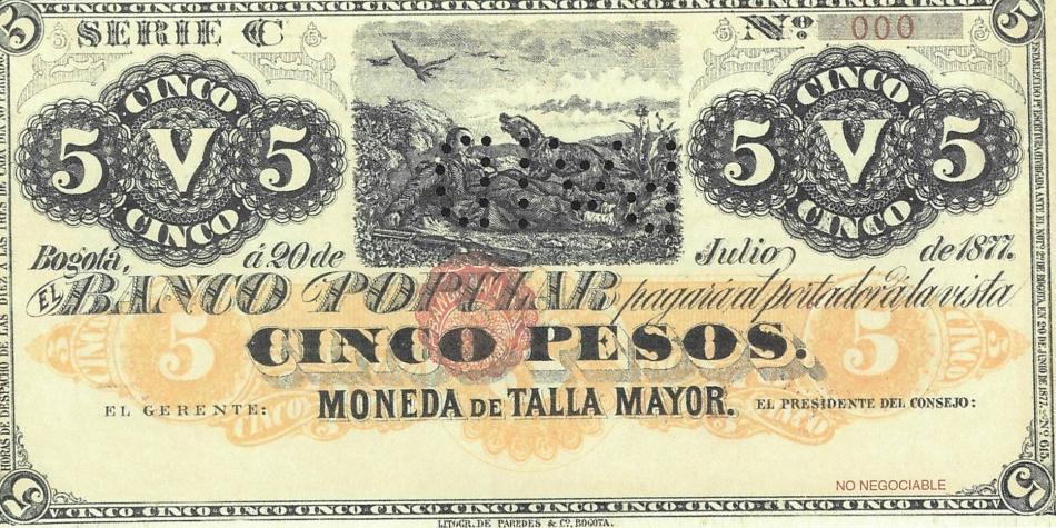 De cuando el Banco Popular llegó a Colombia