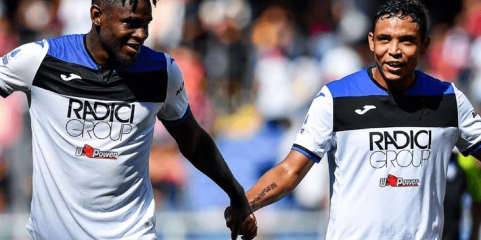 ¡Llave colombiana!: vea los goles de Zapata y Muriel en la Champions