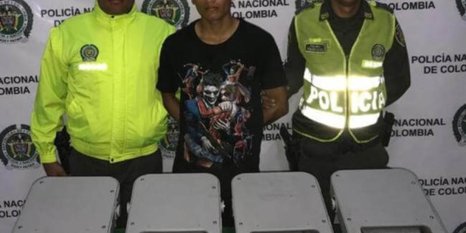 Dos capturados por robos en el puente Pumarejo