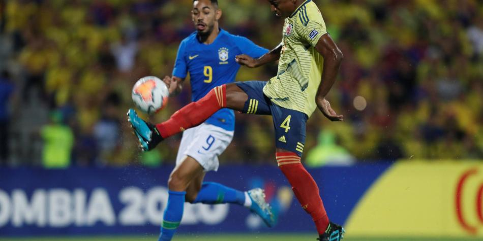 No se pierda el golazo de Cetré en partido contra Brasil