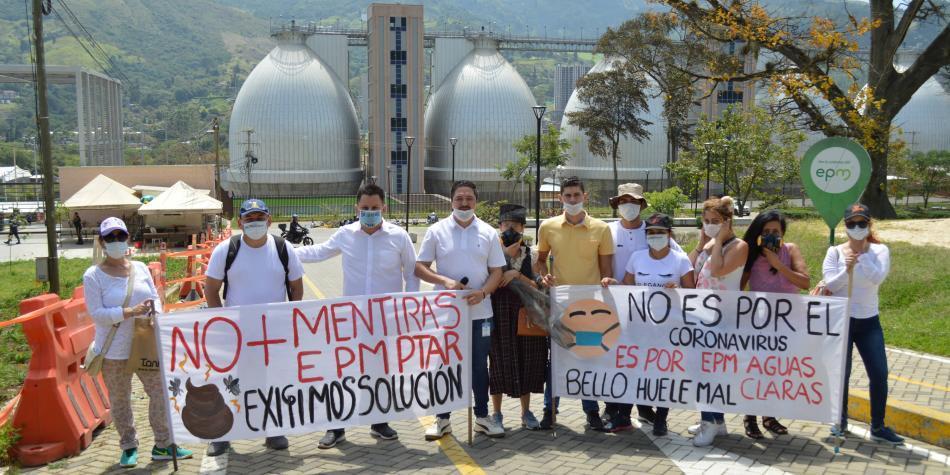 Por malos olores, sellan temporalmente la PTAR de Bello (Antioquia)