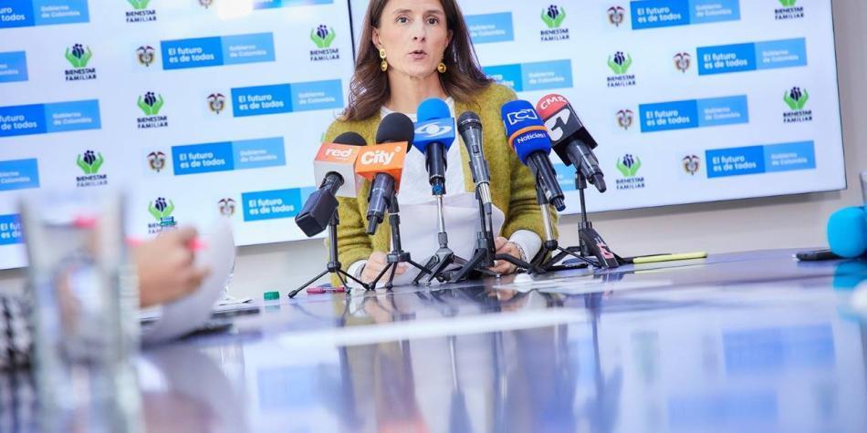 Directora del ICBF presenta su renuncia por motivos personales