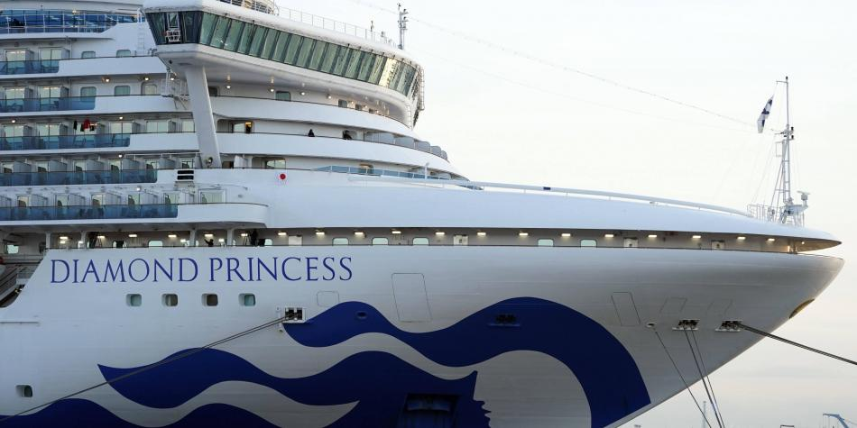 Atienden a pasajeros de crucero donde un colombiano tiene coronavirus