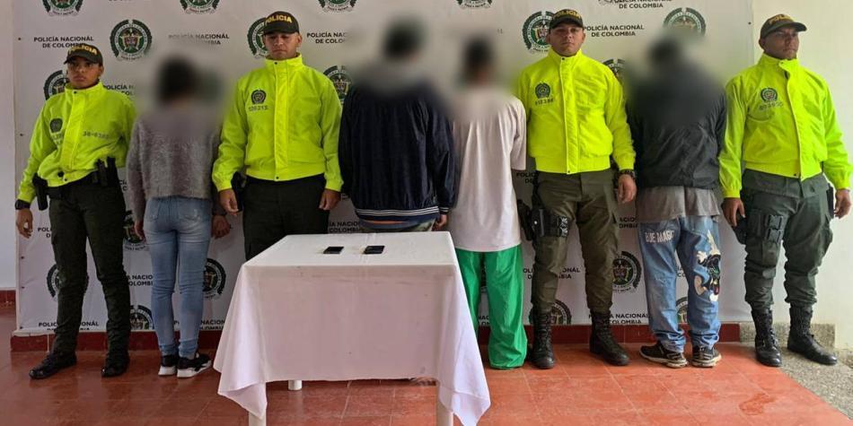 Menores de edad liderarían temible banda criminal en Antioquia