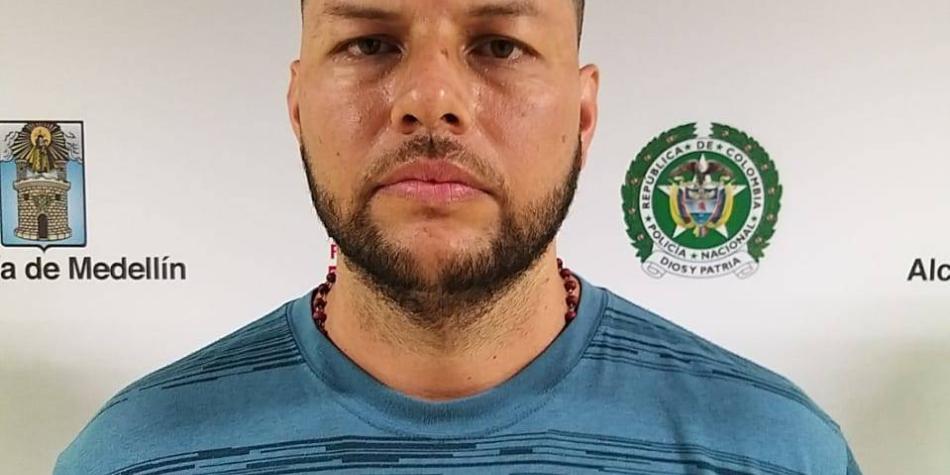 El prontuario de 'Tréllez', el temido jefe de 'La Oficina' en Medellín