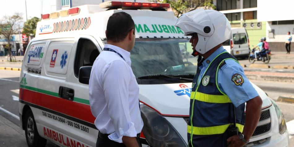 El dolor de cabeza por competencias entre ambulancias en Bucaramanga