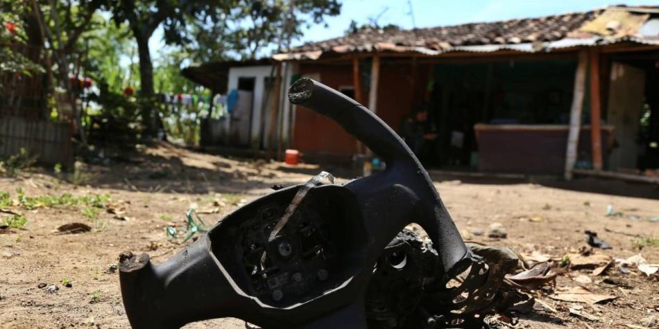 'Vehículo que explotó en el Cauca sí llevaba explosivos': Mindefensa