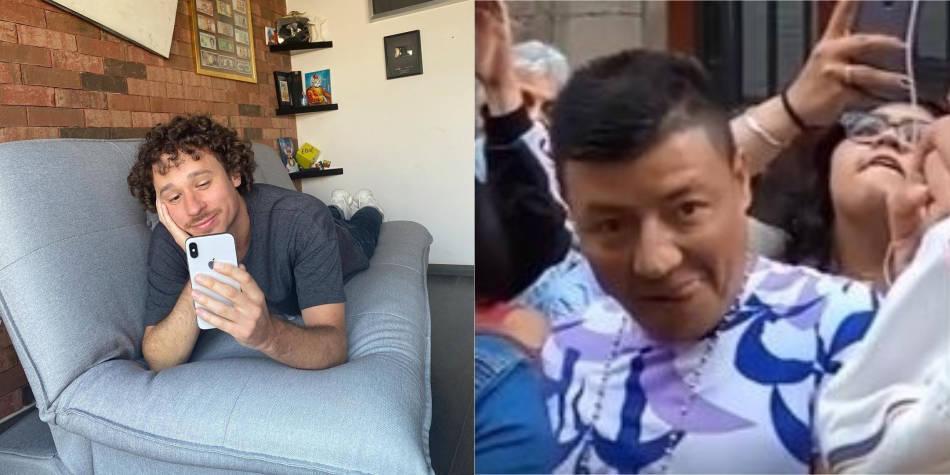 Un acosador fue captado en un video del 'youtuber' Luisito Comunica