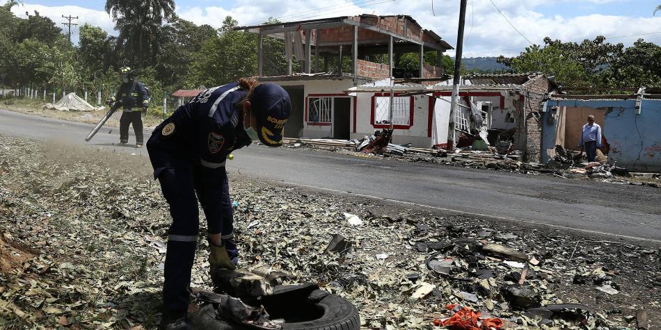 Relatos de las víctimas de la explosión en carretera Panamericana