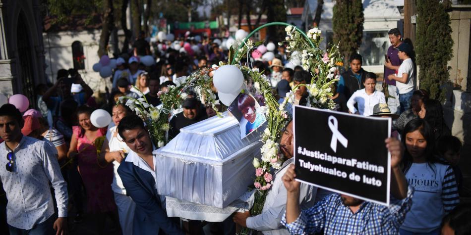 Identifican en México a sospechosos de muerte de menor de siete años