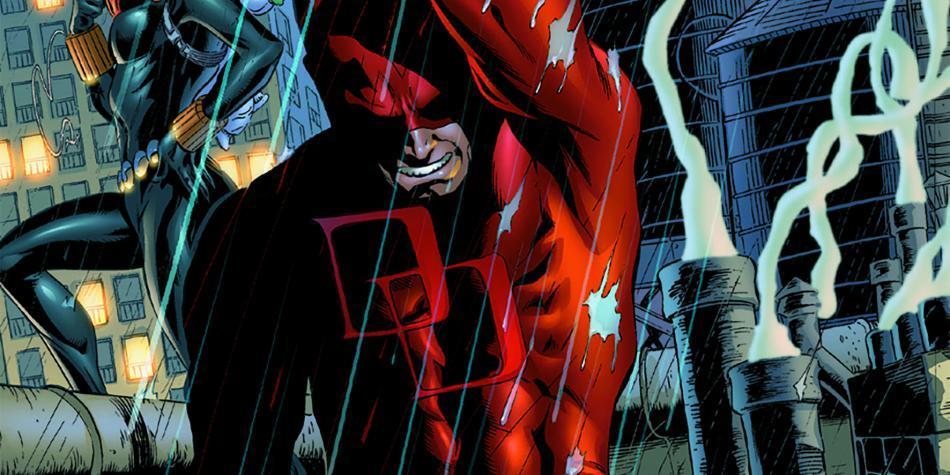 Daredevil, un superhéroe con piyama roja