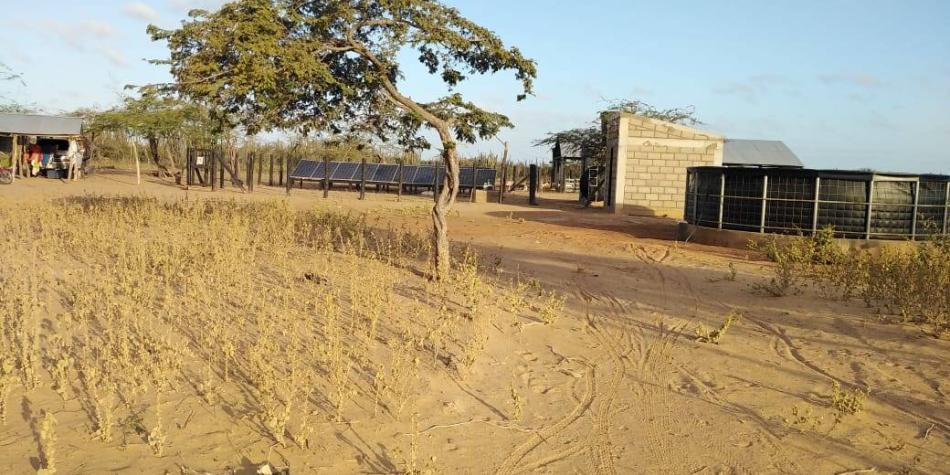 El pozo que calmaría sed en La Guajira y cuya agua saldría contaminada