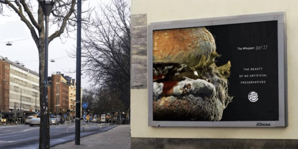 Con aviso de hamburguesa con moho, Burger King deja los conservantes