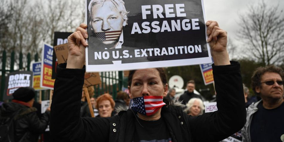 Comienza juicio de extradición contra Julian Assange en Londres