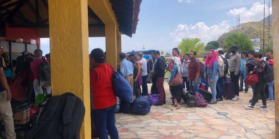 Teleférico del Chicamocha se habilitaría mañana si despejan vías.