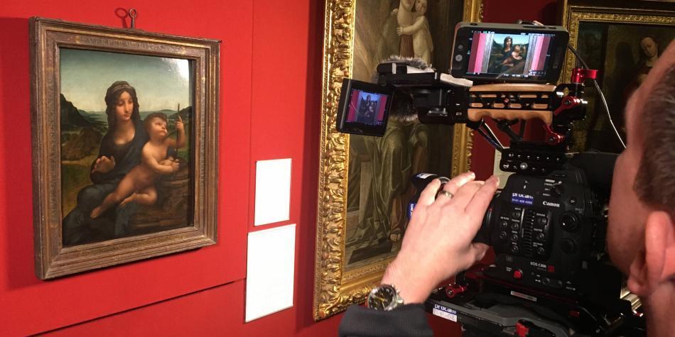 Viaje fílmico a las obras más preciadas de Da Vinci