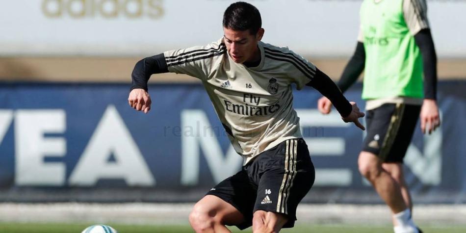 Real Madrid quiere pasar la página: prepara el clásico con James