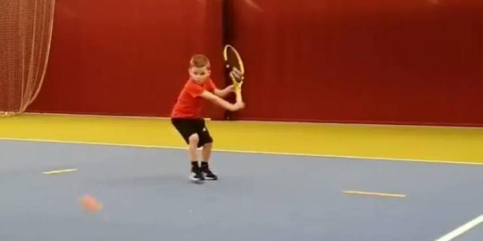 El niño prodigio que puede ser la gran estrella del tenis