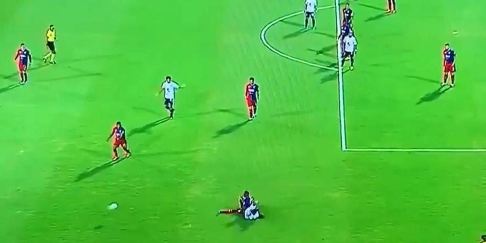 Escalofriante lesión de Yulián Gómez en el DIM vs. Millonarios