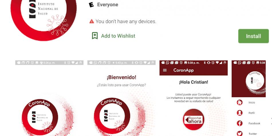 CoronApp - Colombia: ¿Cómo usar la aplicación sobre el Coronavirus?