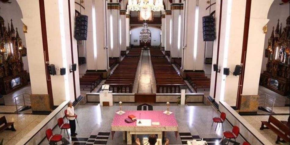 Asista en vivo a la eucaristía dominical en la Catedral de Santiago