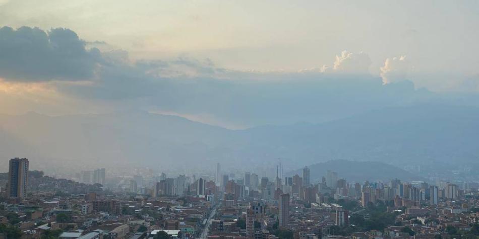 Medellín anunció un segundo episodio de calidad del aire