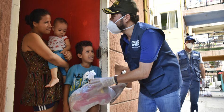 Alcaldía de Barranquilla ha entregado 6.500 ayudas alimentarias