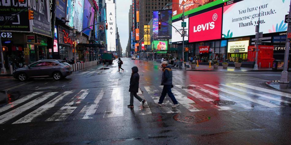 Trump considera imponer cuarentena en Nueva York