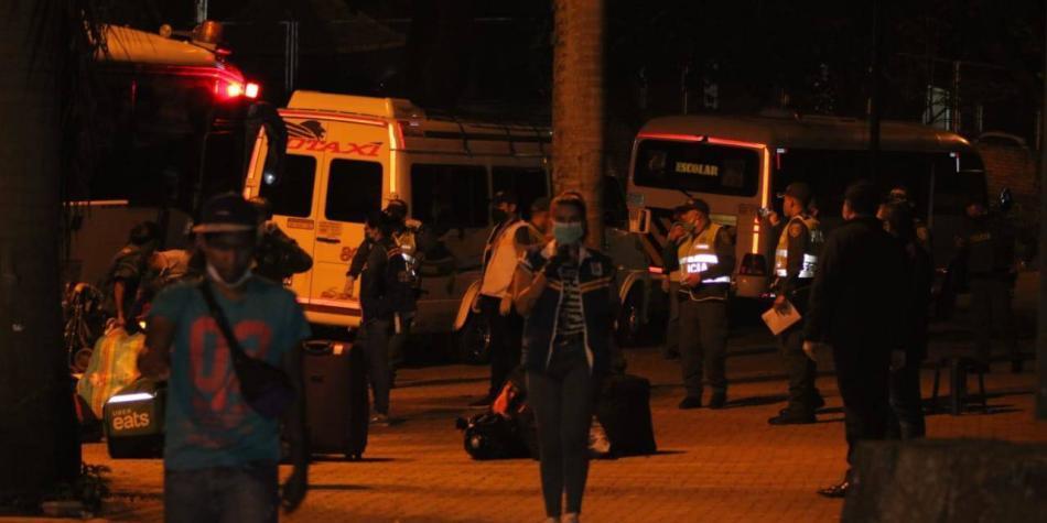 Migrantes pidieron traslado a frontera venezolana por miedo a covid-19