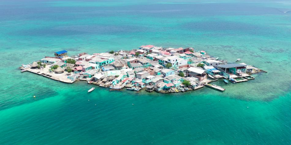 Así se vive la cuarentena en la isla más densamente poblada del mundo