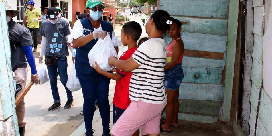El Distrito ha entregado 100.000 auxilios alimentarios