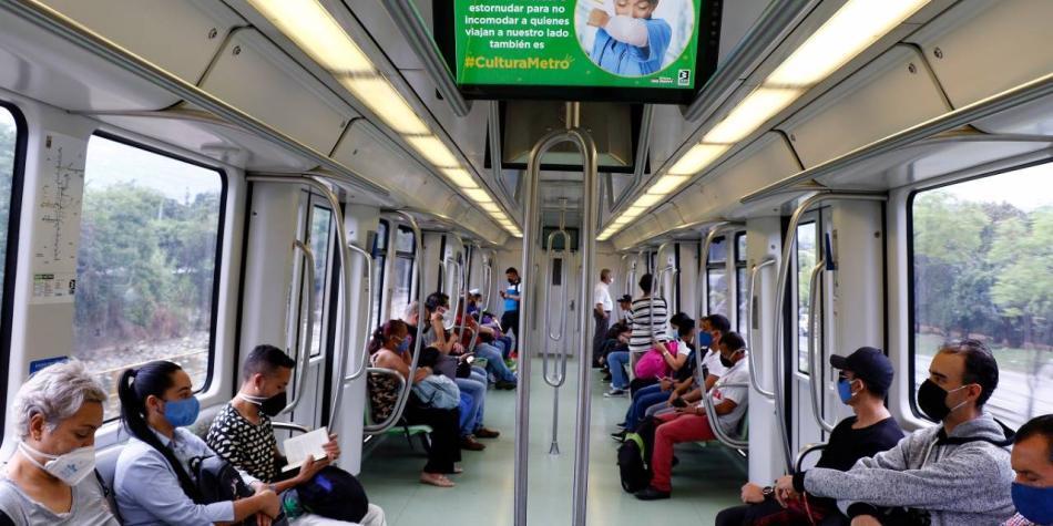 Desde este martes será obligatorio usar tapabocas en Metro de Medellín