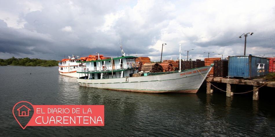 Así vive un marinero encallado por la cuarentena en Buenaventura