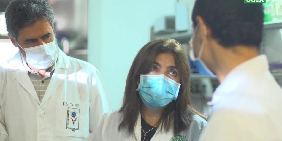 Así fue como científicos de la U. de Antioquia aislaron al coronavirus