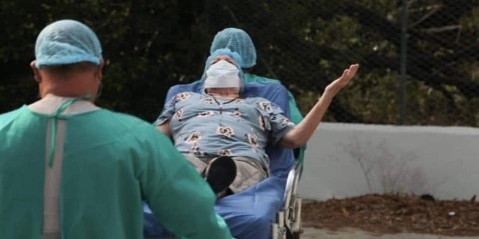 Se recuperaron hijos y esposa del anciano fallecido por covid-19