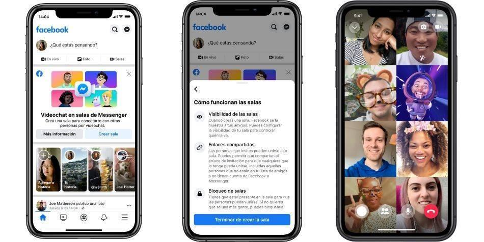 Facebook lanza Rooms, la aplicación con la que busca reemplazar a ...