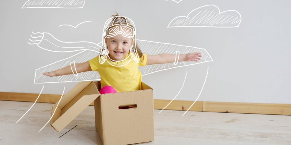 El reto de formar niños creativos en casa