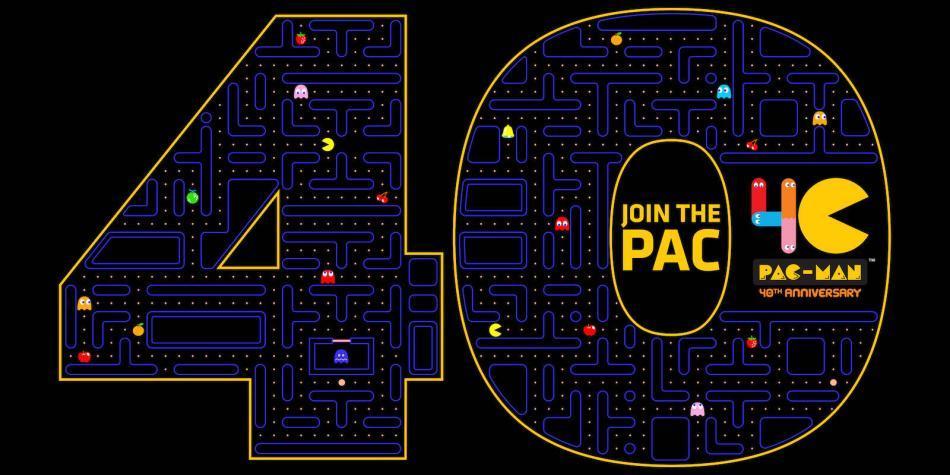 ¡Felices 40 años para Pac-man!