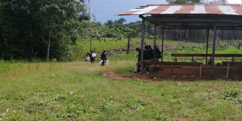 Choque entre campesinos y Esmad por erradicación deja un hombre herido