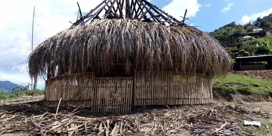 Incineraron un sitio sagrado de los indígenas en Cauca